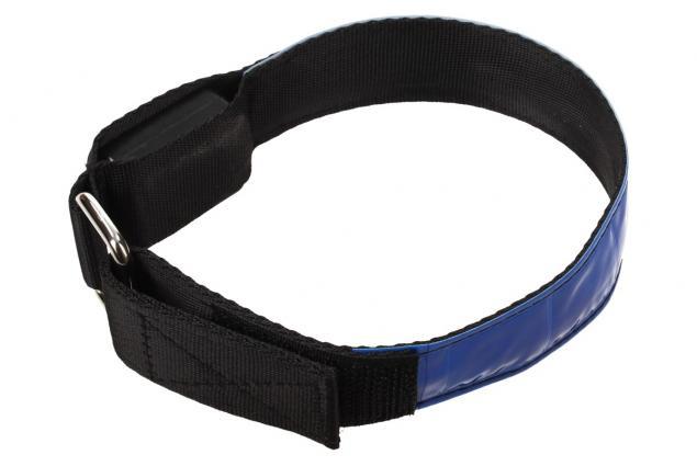 Foto 5 - LED svítící obojek pro psy modrý 32 cm
