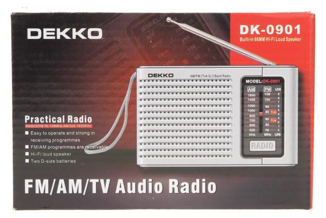 Foto 8 - Rádio Dekko DK-0910