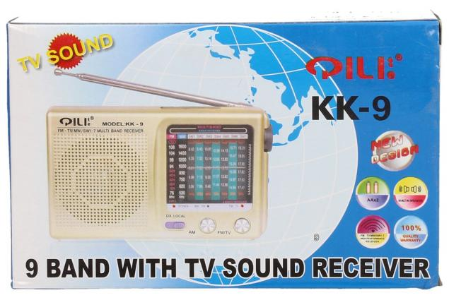 Foto 8 -  Kapesní rádio KK-9 AM/FM/TV