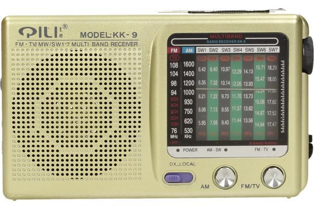 Foto 2 -  Kapesní rádio KK-9 AM/FM/TV