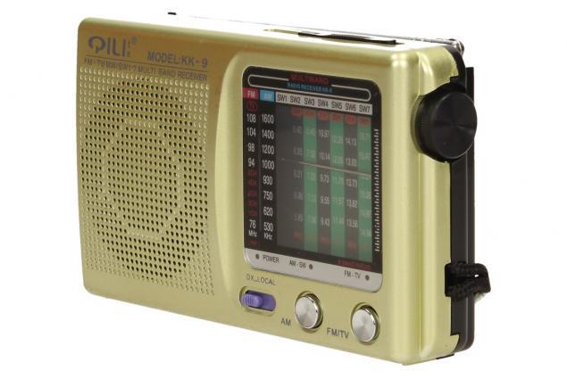Foto 3 -  Kapesní rádio KK-9 AM/FM/TV