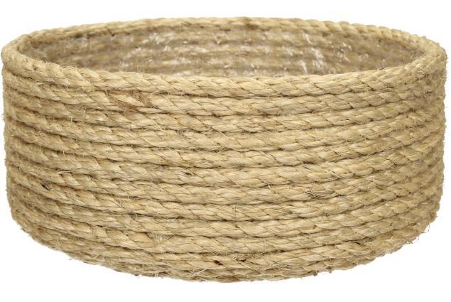 Foto 2 - Sisalová kulatá miska vysoká