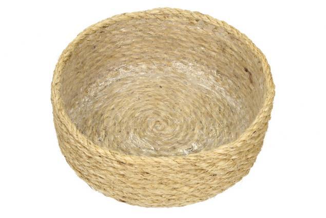 Foto 4 - Sisalová kulatá miska vysoká