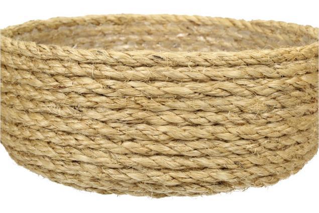Foto 6 - Sisalová kulatá miska vysoká