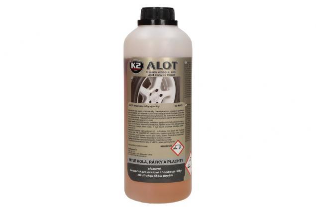 Foto 2 - K2 ALOT 1 kg - čistič kol, ráfků a plachet
