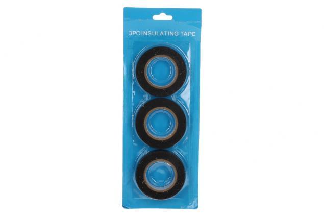 Foto 5 - Izolační samolepící páska černá sada 3 ks