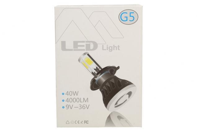 Foto 7 - LED autožárovky G5 H7 9-36V 40W