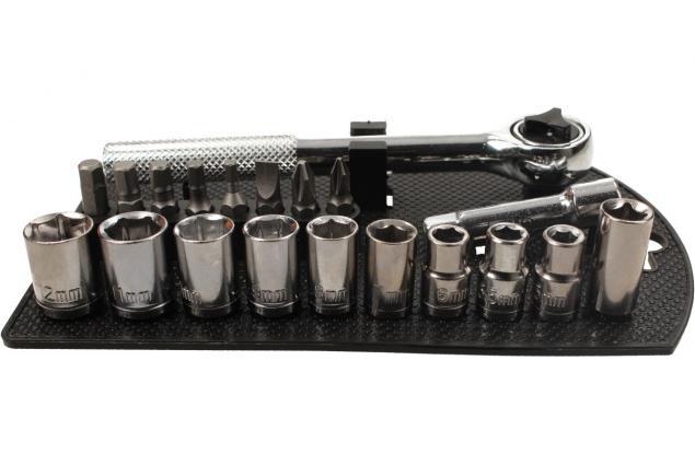 Foto 4 - Sada bitů s ráčnovým klíčem 20 ks SDY-94143