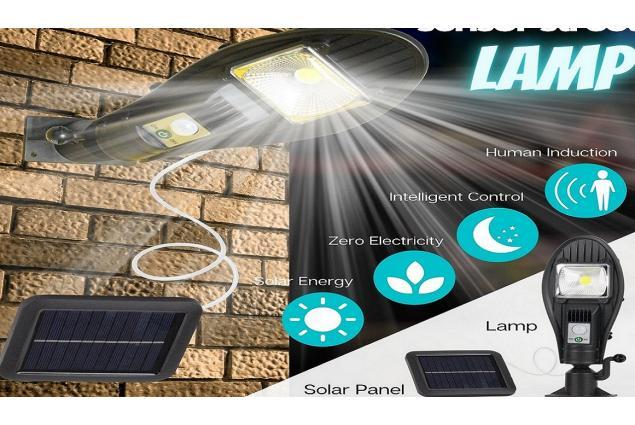 Foto 9 - LED solární venkovní světlo 100W JX-258