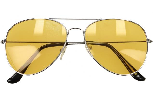 Foto 2 - Polarizační brýle pilotky Night View