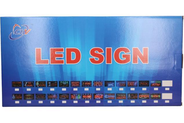 Foto 7 - Barevná světelná LED tabule BAR