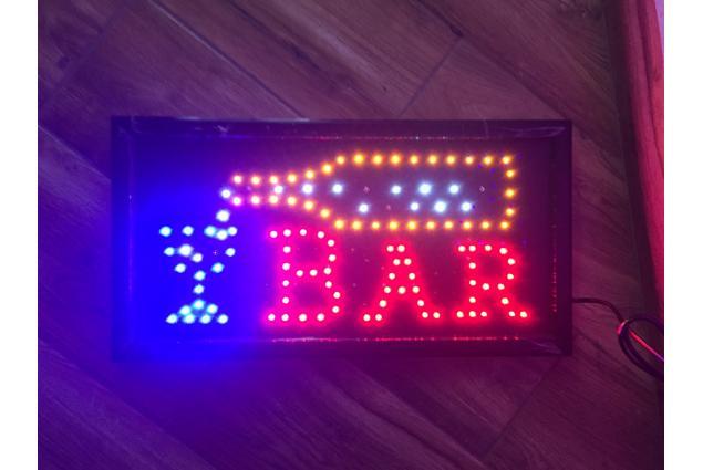 Foto 9 - Barevná světelná LED tabule BAR