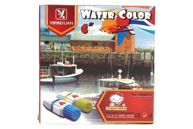 Foto 4 - Temperové barvy sada 6ti barev