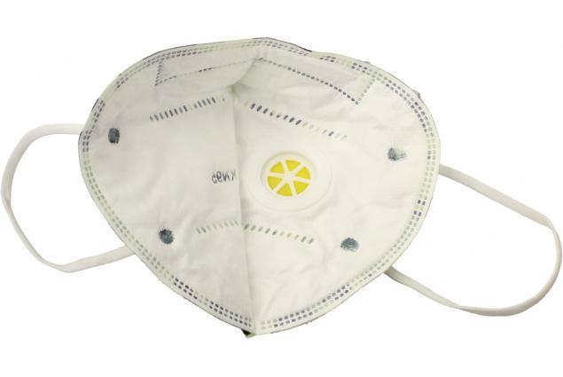 Foto 4 - Respirační rouška KN95 maskáčová zelená