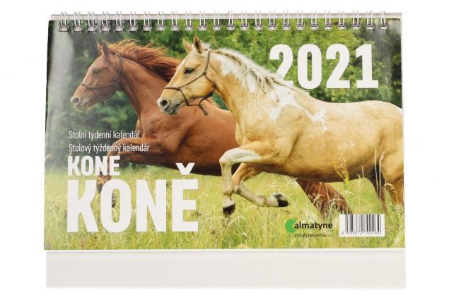 Foto 2 - Kalendář 2021 Koně 22 x 17 cm