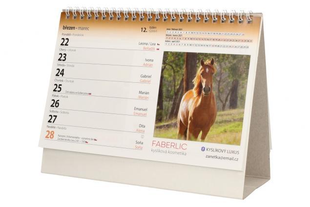 Foto 5 - Kalendář 2021 Koně 22 x 17 cm
