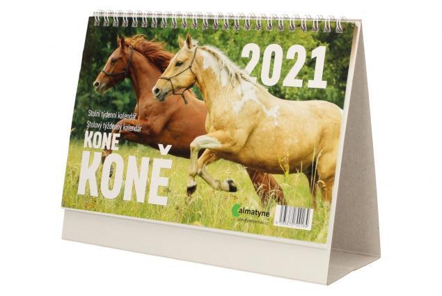 Foto 3 - Kalendář 2021 Koně 22 x 17 cm