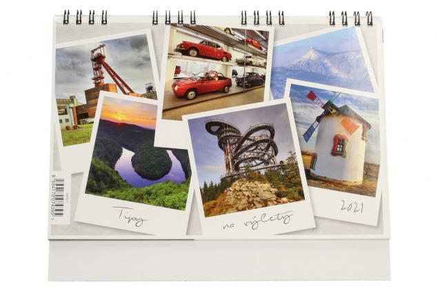 Foto 2 - Kalendář 2021 Tipy na výlety 22 x 18 cm