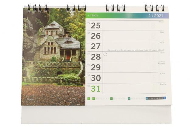 Foto 4 - Kalendář 2021 Tipy na výlety 22 x 18 cm