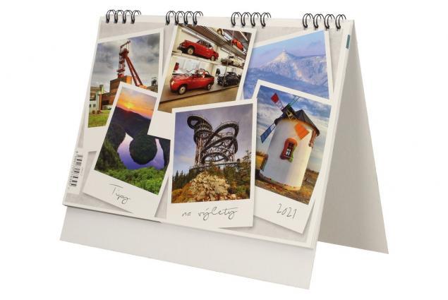 Foto 3 - Kalendář 2021 Tipy na výlety 22 x 18 cm