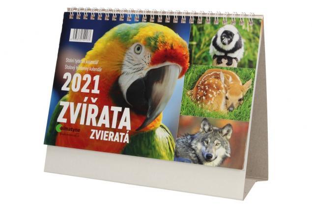 Foto 3 - Kalendář 2021 Zvířata 22 x 17 cm