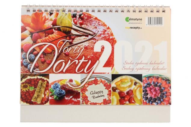 Foto 2 - Kalendář 2021 Dorty 22 x 17 cm