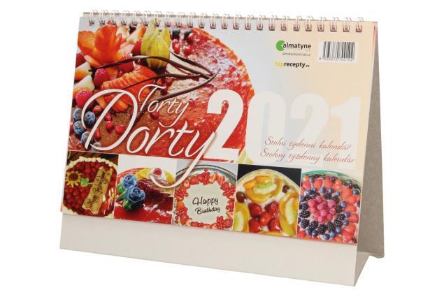 Foto 3 - Kalendář 2021 Dorty 22 x 17 cm