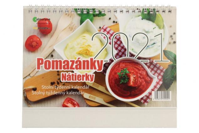 Foto 2 - Kalendář 2021 Pomazánky 22 x 17 cm