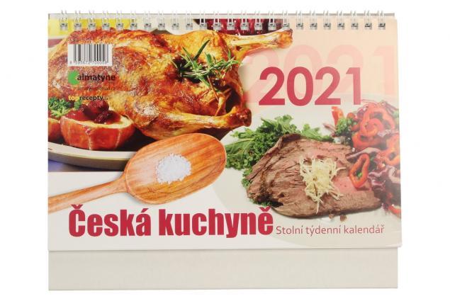 Foto 2 - Kalendář 2021 Česká kuchyně 22 x 17 cm