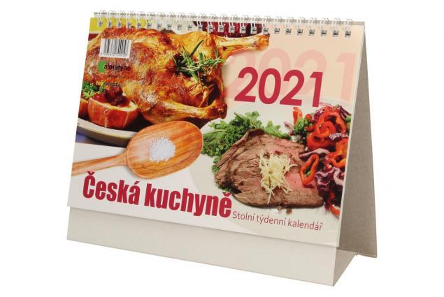 Foto 3 - Kalendář 2021 Česká kuchyně 22 x 17 cm