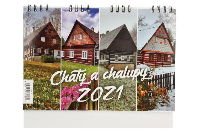 Foto 2 - Kalendář 2021 Chaty a chalupy 22 x 18 cm