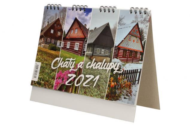 Foto 3 - Kalendář 2021 Chaty a chalupy 22 x 18 cm