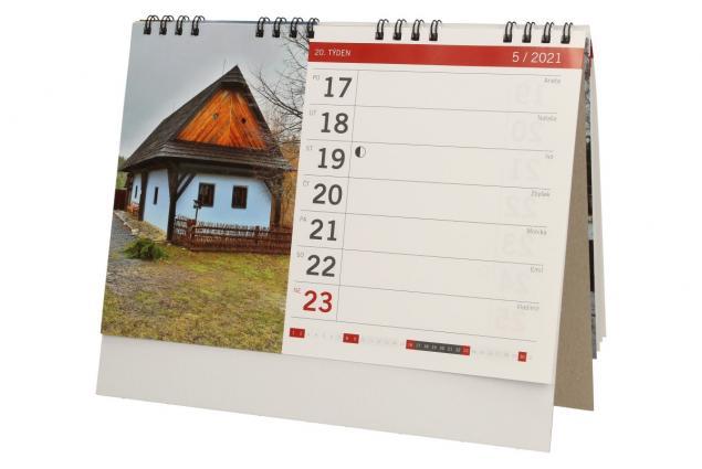 Foto 5 - Kalendář 2021 Chaty a chalupy 22 x 18 cm