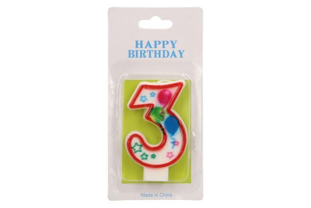 Foto 2 - Svíčka na dort- číslo 3