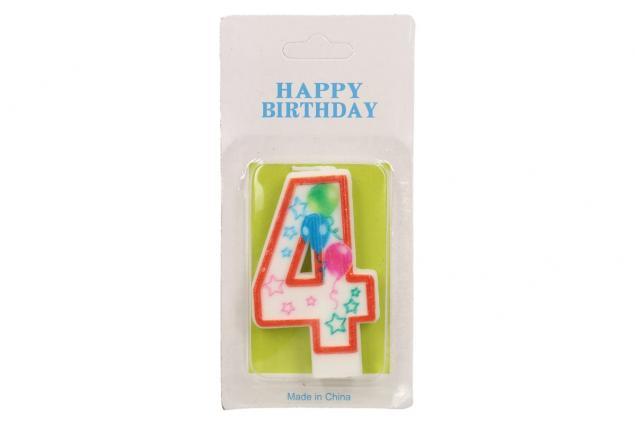 Foto 2 - Svíčka na dort- číslo 4