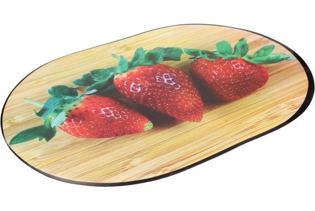 Foto 3 - Prostírání na stůl oválné 40x28 cm Jahody
