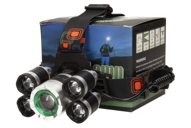 Foto 2 - Výkonná nabíjecí LED čelovka MX-A8-T6