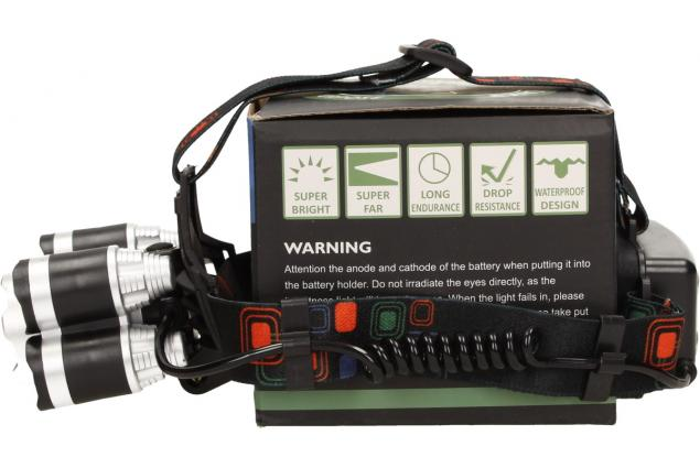 Foto 3 - Výkonná nabíjecí LED čelovka MX-A8-T6