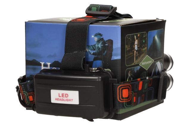 Foto 4 - Výkonná nabíjecí LED čelovka MX-A8-T6