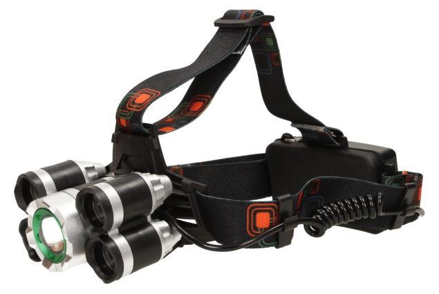 Foto 5 - Výkonná nabíjecí LED čelovka MX-A8-T6