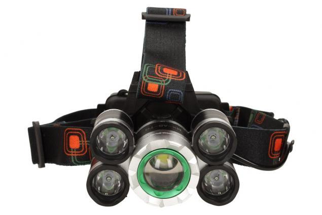Foto 6 - Výkonná nabíjecí LED čelovka MX-A8-T6