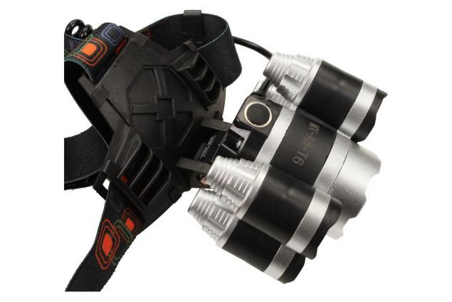 Foto 7 - Výkonná nabíjecí LED čelovka MX-A8-T6