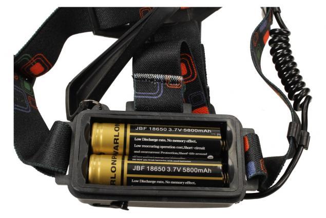 Foto 8 - Výkonná nabíjecí LED čelovka MX-A8-T6