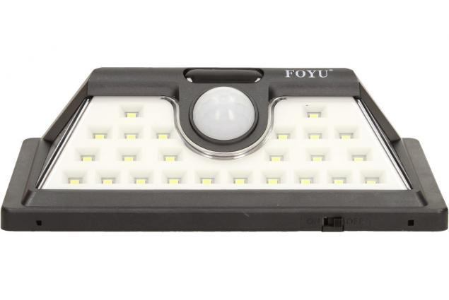 Foto 3 - LED solární světlo s pohybovým čidlem FO-TA004 30W