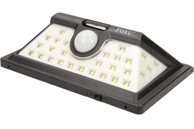 Foto 2 - LED solární světlo s pohybovým čidlem FO-TA004 30W