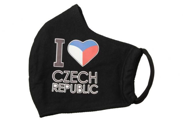 Foto 3 - Rouška I Love Czech Republic