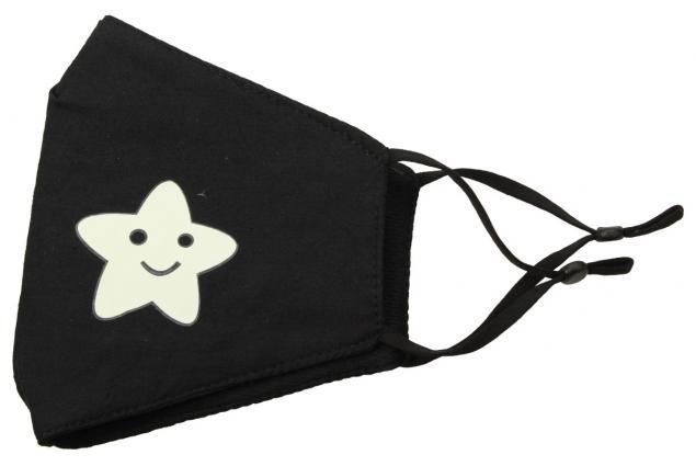 Foto 3 - Rouška s fosforeskující hvězdou