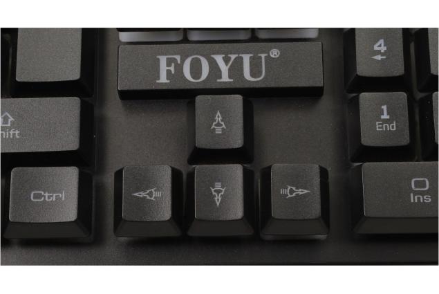 Foto 5 - Herní podsvícená klávesnice FO-D003