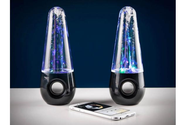 Foto 3 - USB tančící vodní LED reproduktory 6W