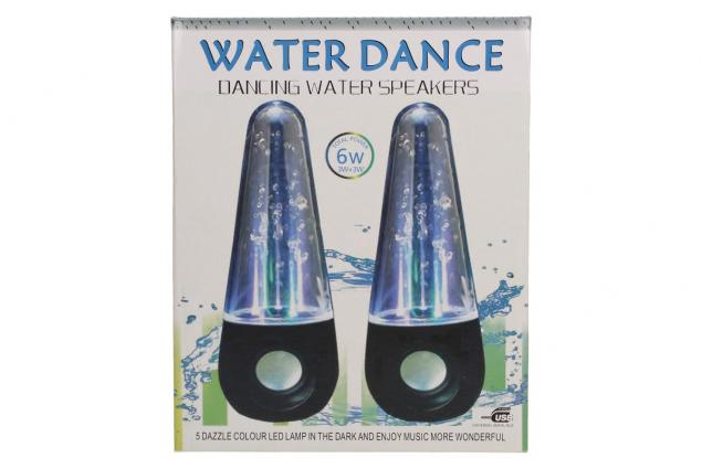 Foto 7 - USB tančící vodní LED reproduktory 6W